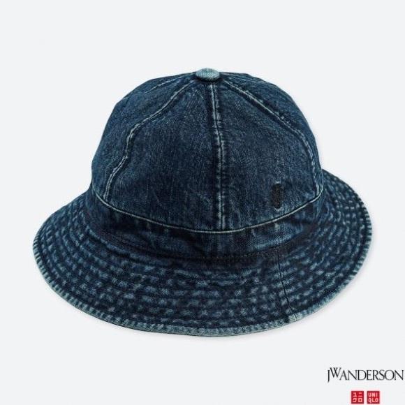 d3357a240a2f3 Uniqlo x JW Anderson Denim Bucket Hat. M 5c0b6b016a0bb731d9fcb0ef